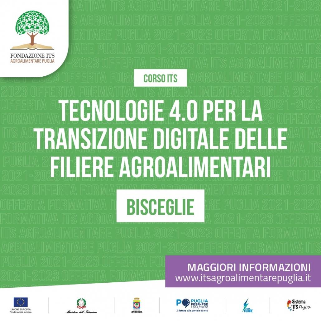 Tecnologie 4.0 per la transizione digitale delle filiere agroalimentari