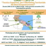 Locandina Incontri divulgazione Bando 2012-2014