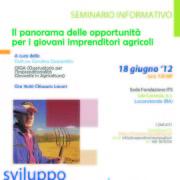 Seminario OIGA 18 giugno 2012