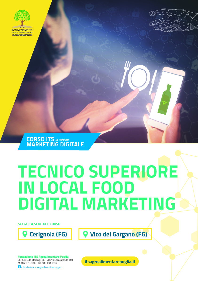 Tecnico Superiore in Local Food Digital Marketing