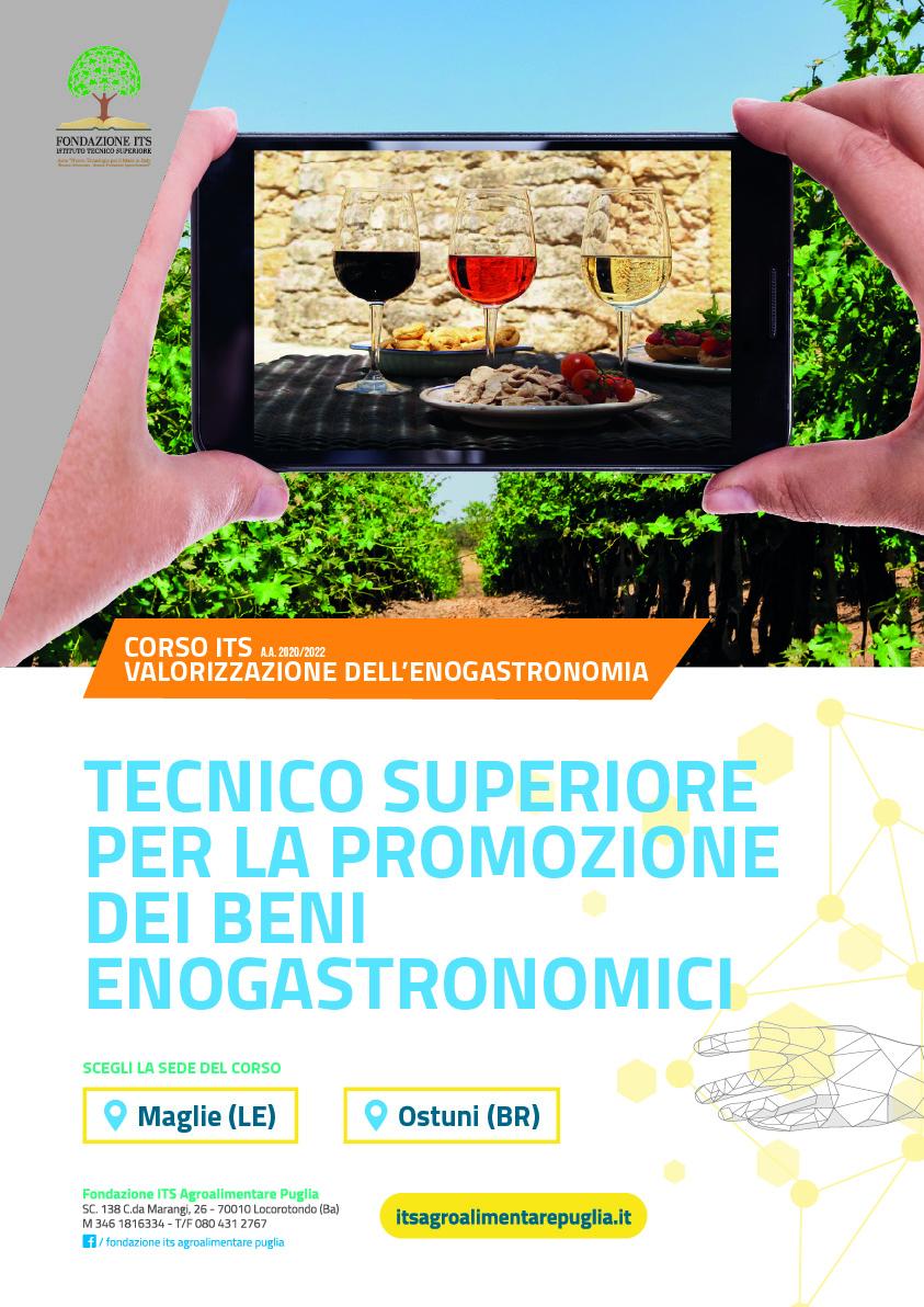 Tecnico Superiore per la Promozione dei Beni Enogastronomici